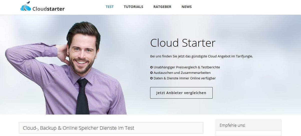 Information über Cloudsharing findest du auf Cloudstarter.info