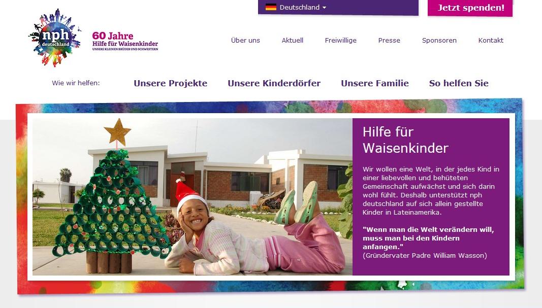Spenden für die richtige Organisation – Hilfefuerwaisenkinder.de