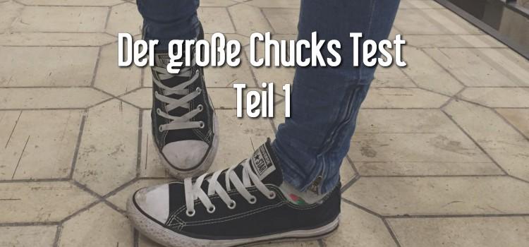 TEIL 1: Der große Converse Test: 10 Chucks + 10 Mädels = Chaos