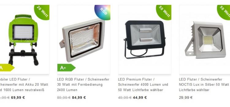LED Fluter – Vorteile & Nachteile für eine perfekte Ausleuchtung