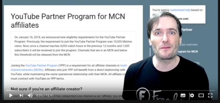 YouTube wirft YouTuber aus ihren Netzwerken