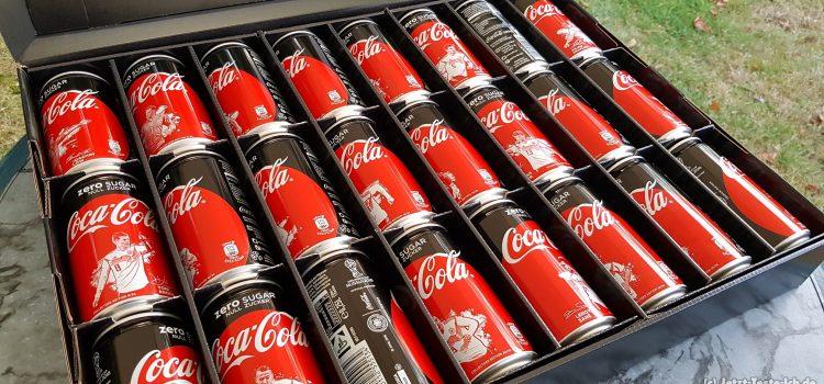 Coca Cola Dosen WM 2018 Kurzreview + Video