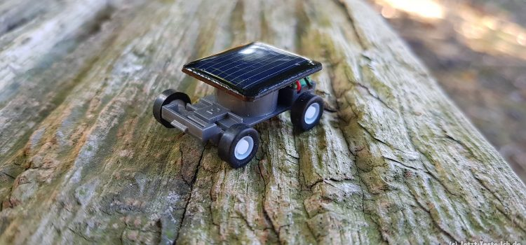 Mini Solarauto im Review – Klein aber fein