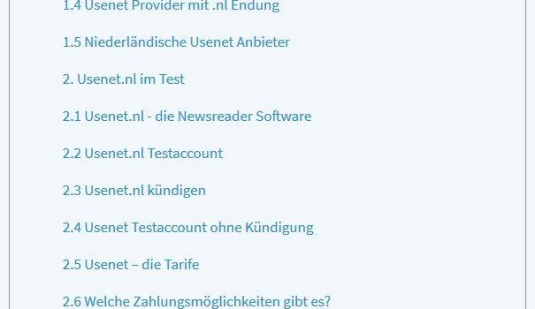 Kurz erklärt: Was ist Usenet.nl und ist es legal?