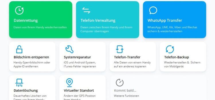 Dr.Fone Test: Was taugt die Telefon Verwaltung für Android?