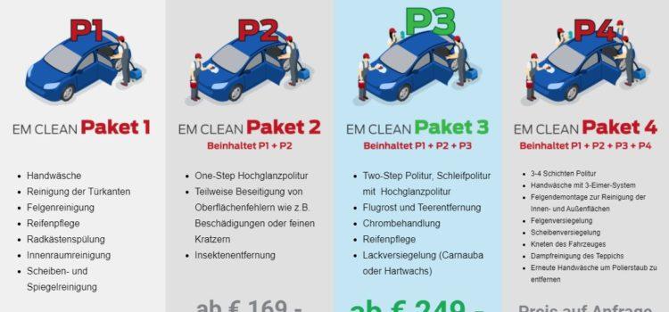 Fahrzeugaufbereitung in Hamburg durch EM CleanCar