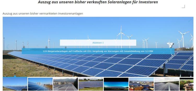 Wie kannst du in Solarstrom investieren?